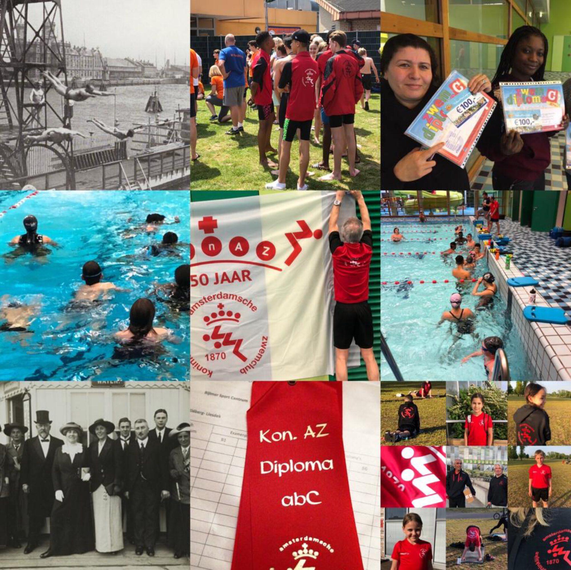 150 JAAR Koninklijke Amsterdamsche ZwemClub 1870